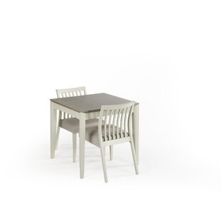 Izzie Extendable Dining Set With 2 Chairs By August Grove