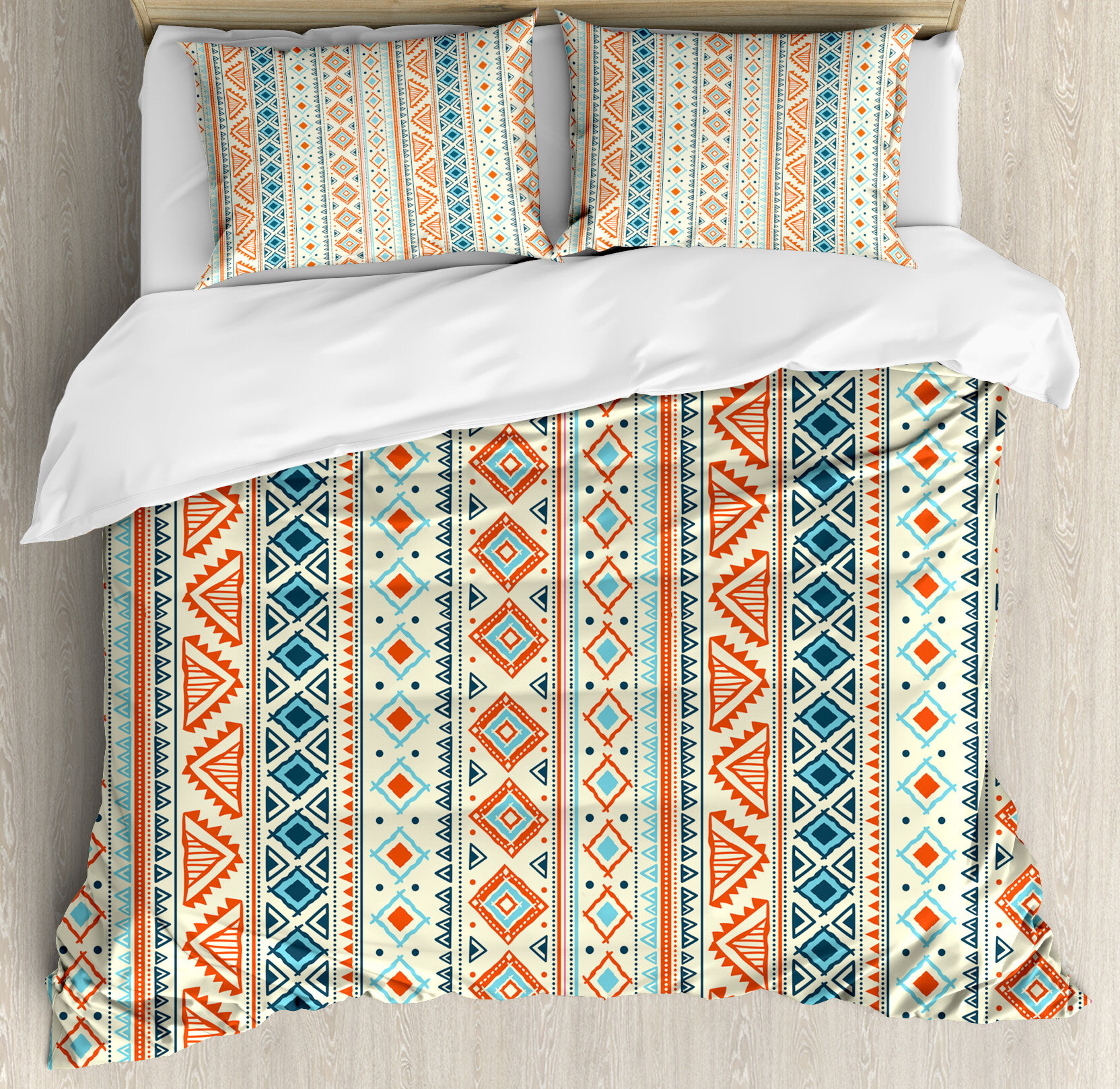 holli french lifestyle new print tribal stripe products linen zollinger comforter