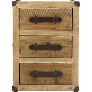Abott 3 Drawer Nightstand