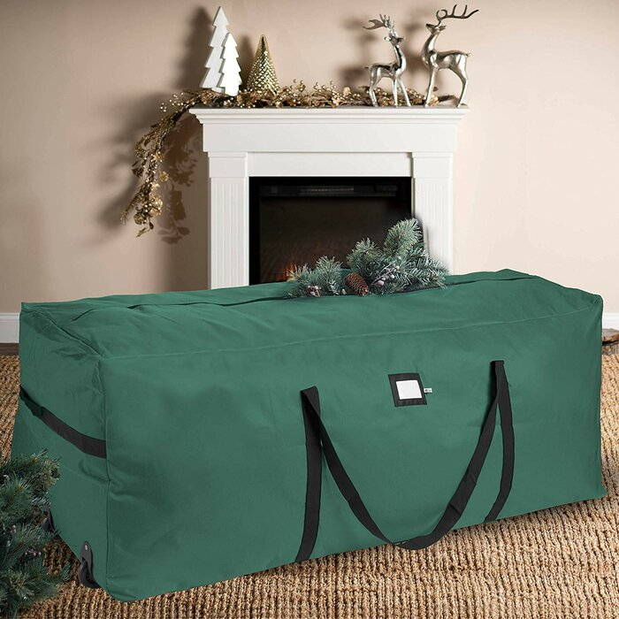 Premium Binegar Rolling Christmas Tree Storage Bag
