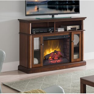 Devan Infrared TV Stand with Fireplace by Alcott Hill