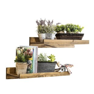 Union Rustic Oconner Floating Shelf (Set of 2)