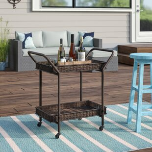 Petherton Serving Cart by Beachcrest Home