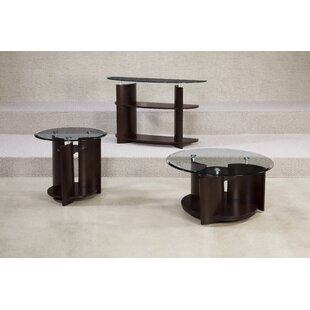 Aslan 3 Piece Coffee Table Set