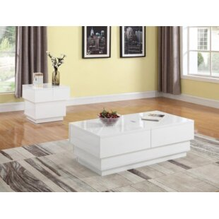Haggins Coffee Table with Storage by Orren Ellis