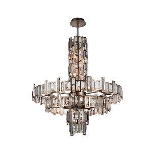 Colby 18-Light Crystal Chandelier by Rosd..
