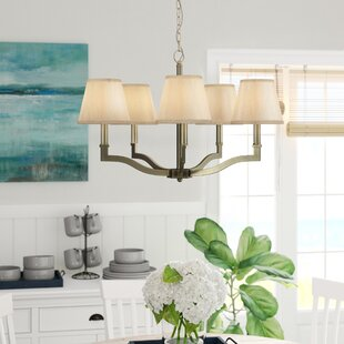 Deziree 5-Light Shaded Chandelier by Willa Arlo Interiors