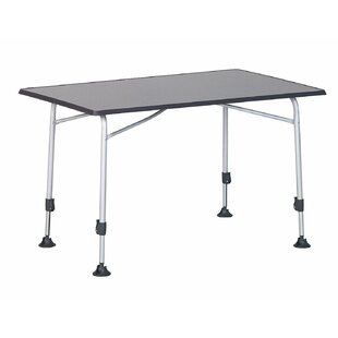 Hosier Folding Aluminium Bar Table By Symple Stuff