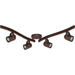 Nuvo Lighting 4-Light MR16 Swivel Track Kit