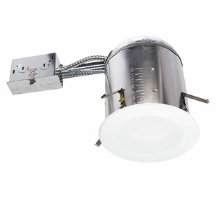 Sunco Lighting 13W 5000K Baffle Remodel Can and Retrofit LED Recessed Lighting Kit (Set of 12)