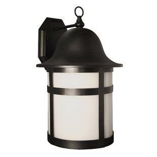 Compare prices 1-Light Outdoor Wall Lantern By Efficient Lighting