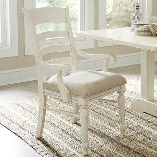 Georgina Ladder-Back Arm Chairs (Set of 2..