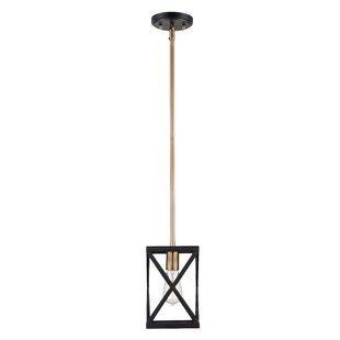 Brayden Studio Tanksley 1-Light Square/Rectangle Pendant