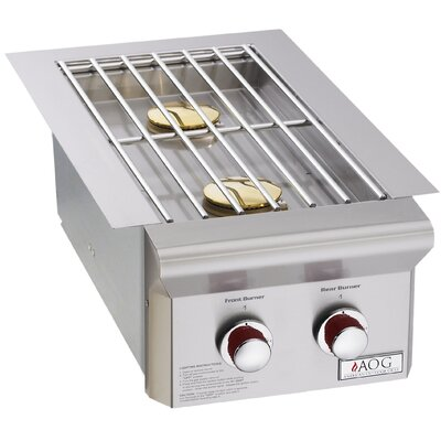 T Series Double Drop-In Side Burner American Outdoor Grill