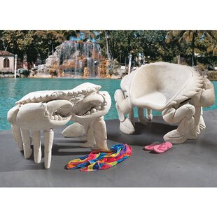 Spice Islands Sculptural King Crab Side Chair