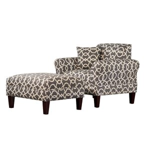 Briley Armchair and Ottoman