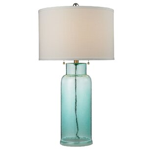 Fulgham Glass Bottle 30 Table Lamp