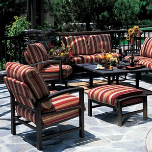 Lakeside Lounge Chair and Ottoman with Cushion
