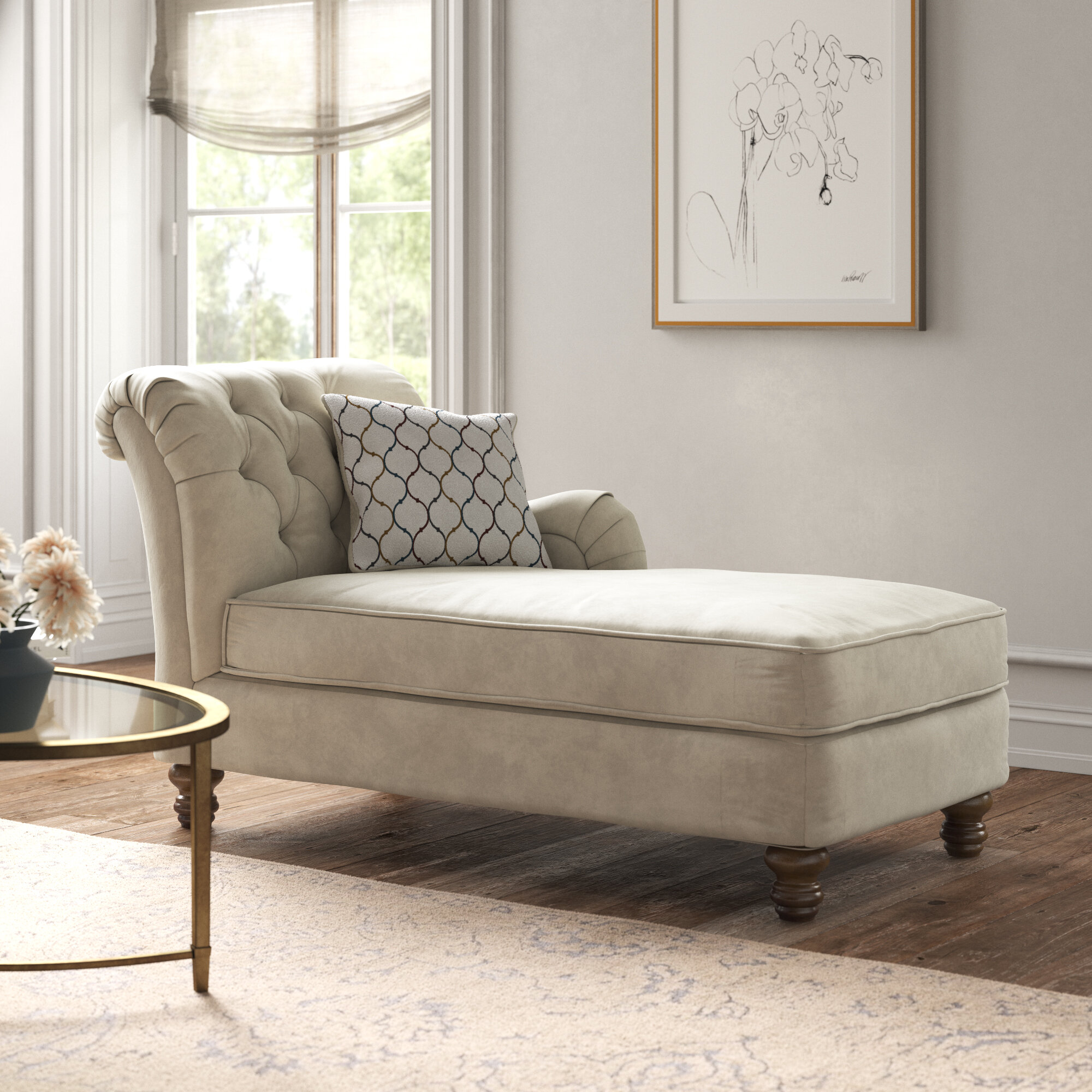 - Kelly Clarkson Home Mitchell Chaise Lounge & Reviews Wayfair
