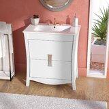 Karter Floor Mount 30 Single Bathroom Vanity Set by Ebern Designs