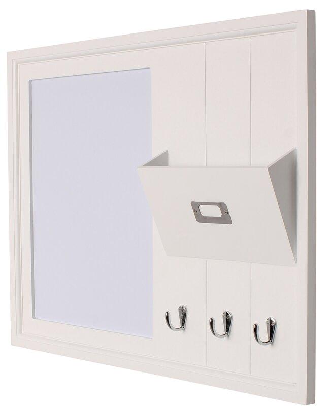 Decorative White Boards rebrilliant decorative wood home organizer dry erase board
