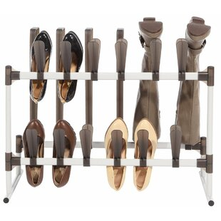 Purchase 12 Pair Shoe and Boot Organizer By Rebrilliant