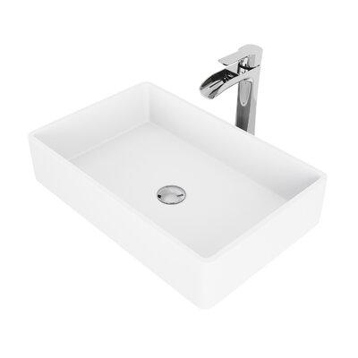 Vitreous China Wall Mounted Bathroom Sink Sink