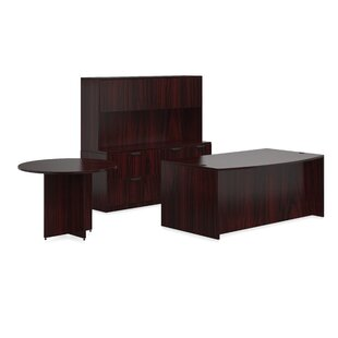 Superior Laminate 8 Piece Desk Office Suite