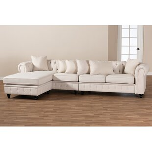 Menasha Reversible Modular Sectional by Darby Home Co
