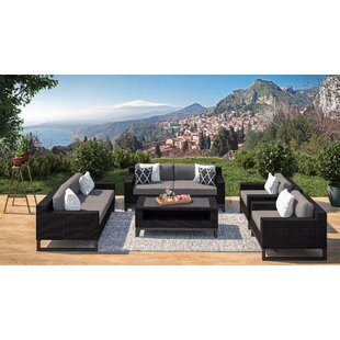 Stivers 7 Piece Sofa Seating Group with Cushions