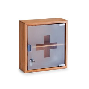 First Aid 29cm X 31cm Surface Mount Medicine Cabinet By Zeller