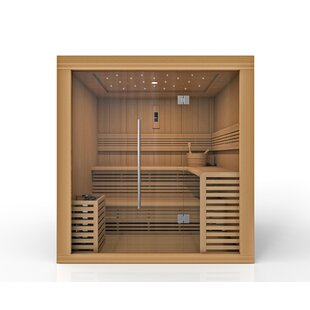 Osla 6 Person Traditional Steam Sauna By Golden Designs