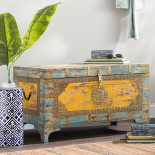 Affordable Finch Storage Trunk with Lift Top By Bloomsbury Market