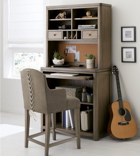 Big Sky By Wendy Bellissimo Writing Desk With Hutch And Chair Set