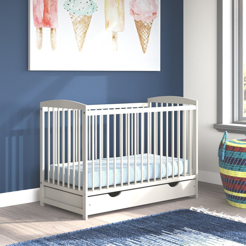 Amburgey Cot Bed with Mattress