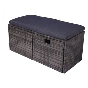 Ivy Bronx India Outdoor Storage Bench
