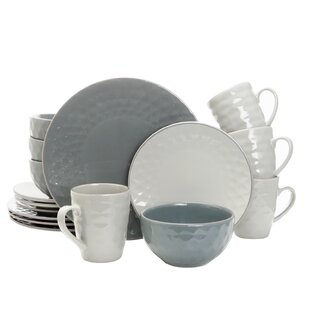 Schaller 16 Piece Dinnerware Set, Service for 4