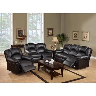 Cannady 3 Piece Living Room Set