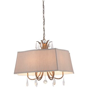 House of Hampton Chitwood 6-Light Pendant