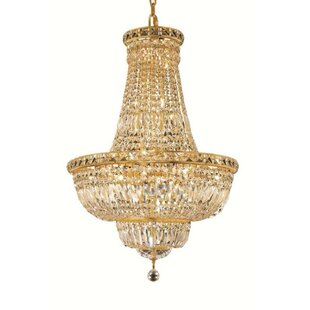 Fulham 22-Light Empire Chandelier by House of Hampton