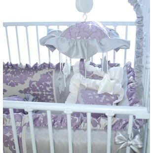 Inexpensive Orchid Petal Musical Mobile By Blueberrie Kids