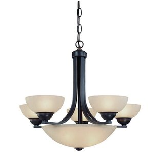 Dolan Designs Fireside 8-Light Shaded Chandelier