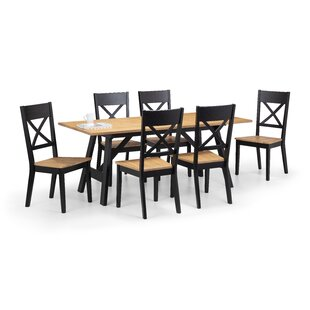 Mulford Dining Set With 6 Chairs By Mercury Row