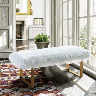 Mercer41 Hindman Upholstered Bench