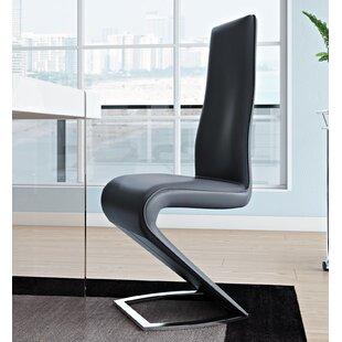 Orren Ellis Chellsey Contemporary Side Chair (Set of 2)