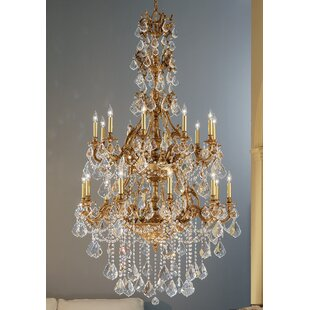 Classic Lighting Majestic Imperial 20-Light Candle Style Chandelier