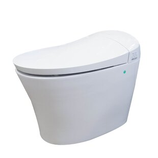 Arial 1 18 Gpf Elongated Toilet Tank Seat Included