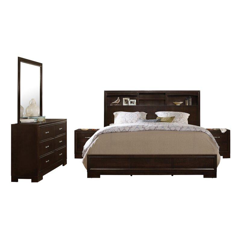 Voigt Platform 5 Piece Bedroom Set