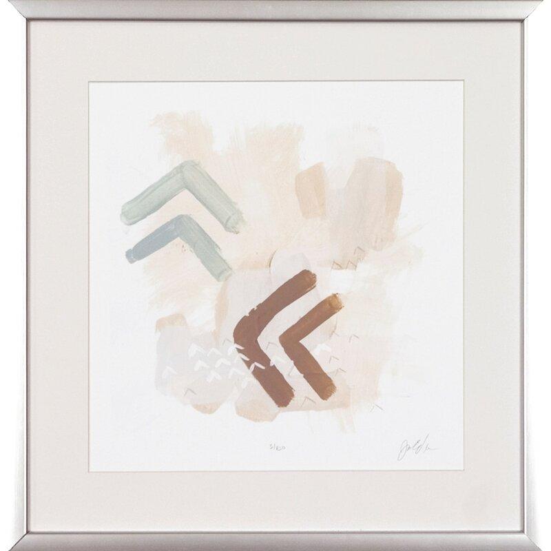 Art Virtuoso Intangible By June Erica Vess Framed Painting Print Wayfair