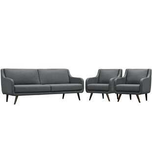 Verve 3 Piece Living Room Set by Modway